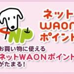 イオンカードセレクト【複雑なWAONポイント制度まとめ】WAONチャージのポイントは?