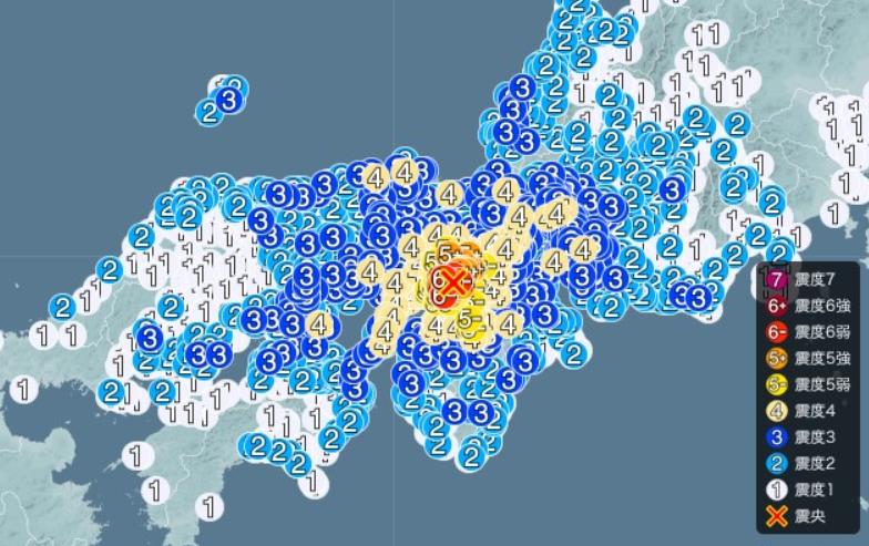 2018年 地震 震度5以上 まとめ