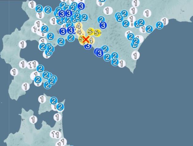 地震 2018年 震度5以上 まとめ